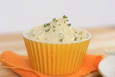Herb and Garlic Cashew Cream Cheese With Rejuvelac