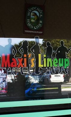 Maxi's Lineup in fabulous Jupiter Florida. One of Jupiter's funniest and finest. 103 South US Highway 1 # D3 Jupiter, FL 33477 http://littlemoirs.com/leftovers/
