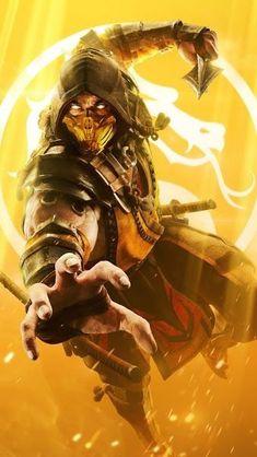 Mortal Kombat Tattoo, Arte Kombat Mortal, Mortal Kombat X Scorpion, Arte Ninja, Ninja Art, Cute Deadpool, Mortal Kombat X Wallpapers, Ps Wallpaper, Black Panther Art