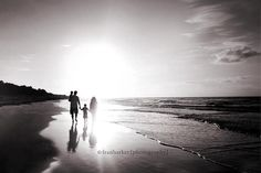 """""""Black"""" and white, family walking  Be Inspired: Beach » Confessions of a Prop Junkie"""