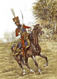 P. Conrad - Officer 2nd(Dutch) Lancers of the Imperial Guard