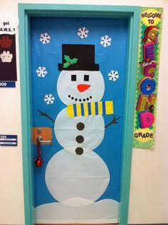 porta sala aula decorada