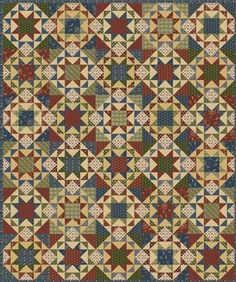 Free Pattern Download @ Connecting Threads - Minnesota Stars Quilt
