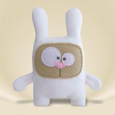 Tiere & Monster - ♥ Minikumpel Hasi ♥ - ein Designerstück von KuschelICH bei DaWanda