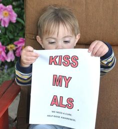 Yes, baby River...our sentiments exactly. #ALS #ALSMonth #ALSAdvDay12: