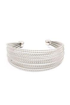 River Cuff Bracelet in Silver, god, or rose