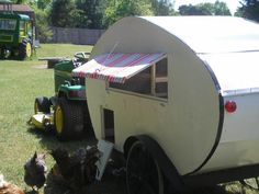 chicken coop camper