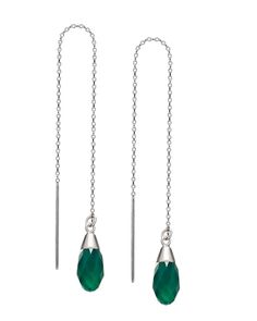 Green Drop Earrings - JewelMint