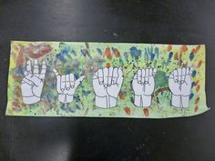 Artistic Freedom: Sign Language in ART!!!!