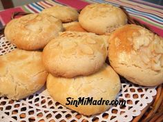 Galletas de manteca a la antigua