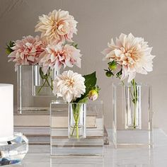Simple Centerpieces, Wedding Centerpieces, Williams Sonoma, Bud Vases, Flower Vases, Hawaiian Party Decorations, Vase Design, Crystal Vase, Back To Nature