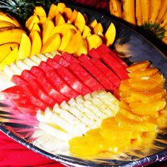 Fruit Basket at Eagle's Nest Restaurant.