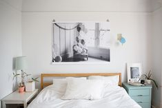 Human-size your photographs with these black and white 3 feet by 4 feet engineer prints ($25). They've got a lo-fi, lightweight kind of feel.
