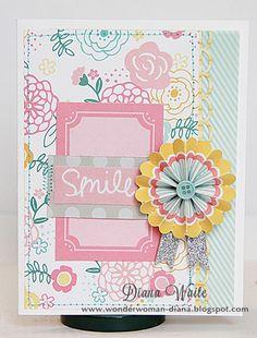 Smile *American Crafts* - Scrapbook.com