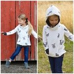 BOYS peek a boo hoodie, now testing!! Pattern will come complete with a unisex waist length and a tunic length for GIRLS. Keep a look out for the release and discount code! Thanks for the pics @angie.burgett #lilluxecollection #peekaboohoodie #unisexhoodie