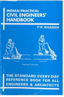 Practical Civil Engineers' Handbook By P.N. Khanna free [PDF] ~ Civil Engineering Blog