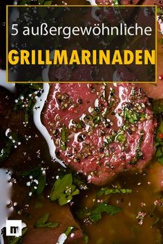 Make grilled marinade yourself: 5 brilliant recipes for men . - Make grilled marinade yourself: 5 brilliant recipes for men # Men& bus - Grill N Chill, Bbq Grill, Grilling Tips, Grilling Recipes, Sauce Recipes, Pork Recipes, Barbecue Recipes, Smoking Meat, Cauliflower Recipes