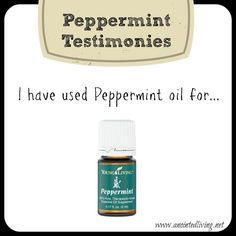 Check out some awesome personal testimonies and a ton of uses for Peppermint oil!