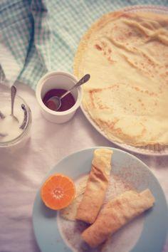pancakes and rainy days