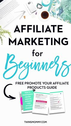 New to blogging? Also an affiliate marketing beginner? You can make money as a new blogger, but hold up. To do that you need to know how to create a blog post to make sales. This takes tactics and will help you with affiliate market on Pinterest. Check out my FREE guide to promote your affiliate products | learn affiliate marketing | start affiliate marketing | make money blogging