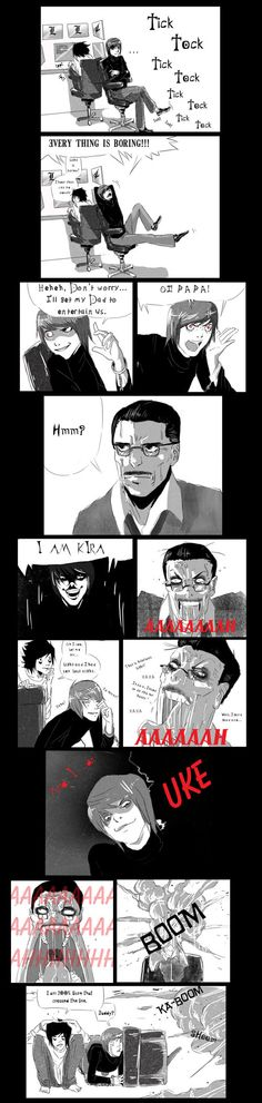 bored, death note, and funny image