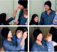 cast of supernatural | Only the cutest set of GIFS ever! Seriously, click...you think you're ...