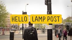 """""""Bristol's street objects are waking up and they want to talk to you."""" Amazing! 