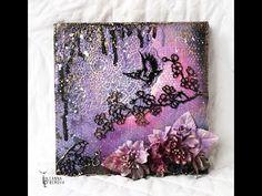 "Handmade by Yulianna: Коллаж ""Night birds"""