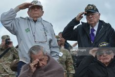 News Photo : Some of the few Normandy 1944 Veterans still. Normandy, News, Normandie