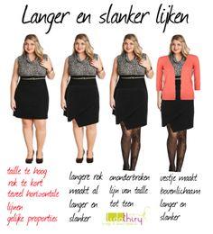 Een megatruc om slanker te lijken-www.lidathiry.nl