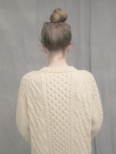 Irish sweater - Ashley Rose Helvey. tis' beautiful.