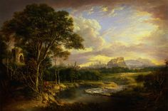 Alexander Nasmyth View of the City of Edinburgh