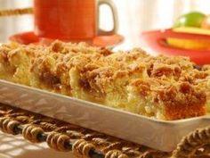 Receita de Cuca de maçã - Tudo Gostoso