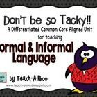 That Tacky the Penguin is always saying and doing silly things! This lesson pack will help you teach your students to identify the difference bet...