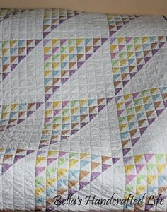 """""""Birds in the Air"""" Quilt   Created by Bella"""
