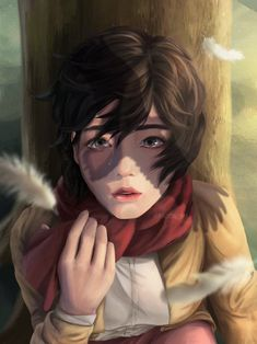 Attack On Titan Eren, Attack On Titan Fanart, Eren X Mikasa, Armin, Comment Planter Des Roses, Manga Anime, Anime Art, Eremika, Anime Scenery