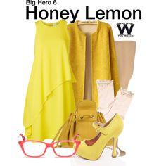 Inspired by Genesis Rodriguez (voice) as Honey Lemon in 2014's Big Hero 6.