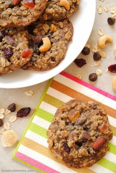 chocolate ginger bliss oatmeal cookies