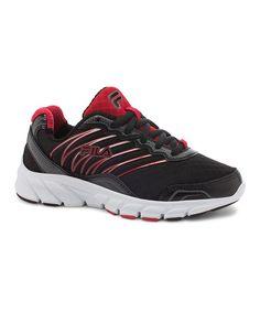 Black & Red Countdown Running Shoe