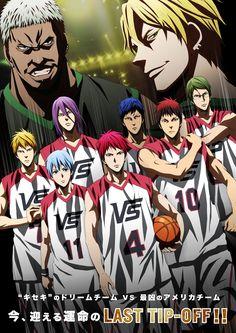 Kuroko's Basket: Les personnages du film font équipe avec la NBA