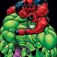 Deadpool and the Hulk