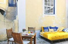 hotel, portugal, lisbon, solar do castelo, castelo s jorge
