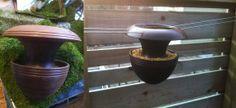 spun - bird feeder