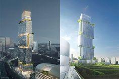 Les Jardins de l'Arche, la nouvelle tour de La Défense | Defacto - Quartier d'affaires de la Defense