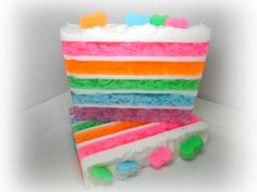 Pastel Cake Soap by Kokolele on Etsy.