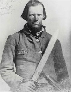 A private of Company G, 1st Regiment (Crawford's) Arkansas Calvary, Confederate States Army, Warford enlisted the 9th of December 1862.