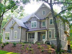 Two Story Traditional With Options - 29845RL | Craftsman, Traditional, Photo Gallery, 2nd Floor Master Suite, Butler Walk-in Pantry, CAD Available, Den-Office-Library-Study, Jack & Jill Bath, MBR Sitting Area, Media-Game-Home Theater, PDF, Corner Lot, Sloping Lot | Architectural Designs