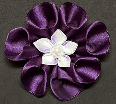 Craft linda: flores de raso