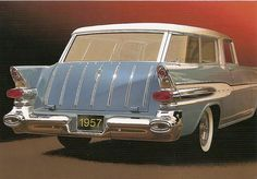 1957 Pontiac Safari Wagon