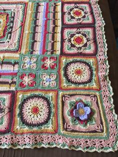 Demelza, Mandala, Blanket, Knitting, Tricot, Breien, Stricken, Weaving, Blankets
